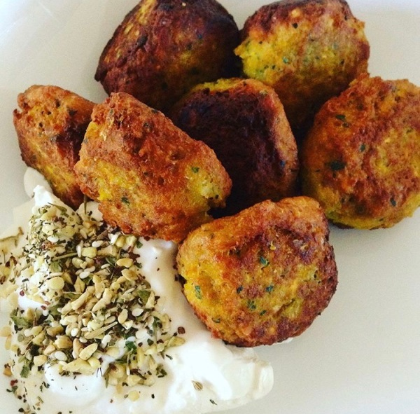 Carrot and Chickpea Fluffy Falafel